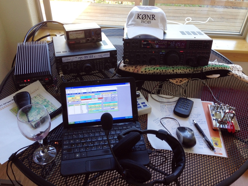 June VHF radio gear