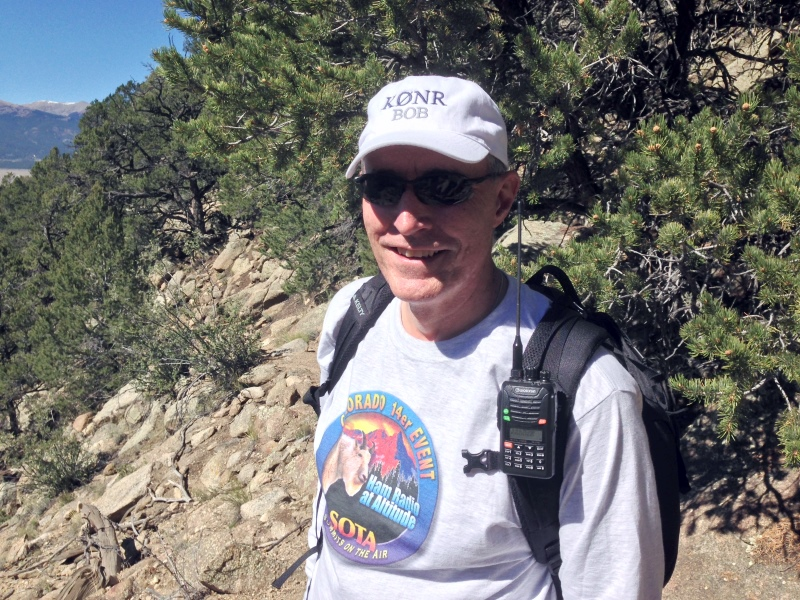 Bob K0NR on the trail
