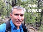 Bob hiking- K0NR 2
