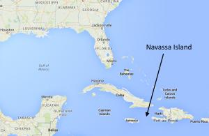 Navassa Island map