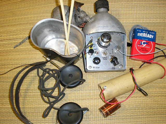 N6CC Replica Canteen Radio