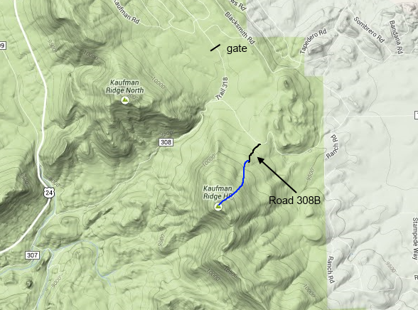 map kaufman hp